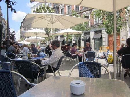 A late lunch in Madrid