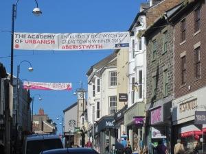 Shops in Aberystwyth