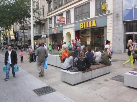 8. Street life Vienna
