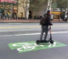 Electric scooters appeal to young people